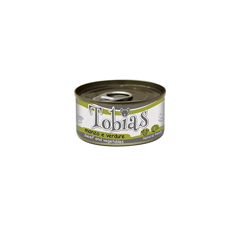 Tobias консервы для собак -  Говядина и овощи 85г