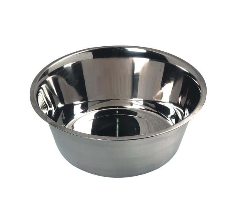 Миска для корма и питья (нержавеющая сталь) 370мл ø13cм