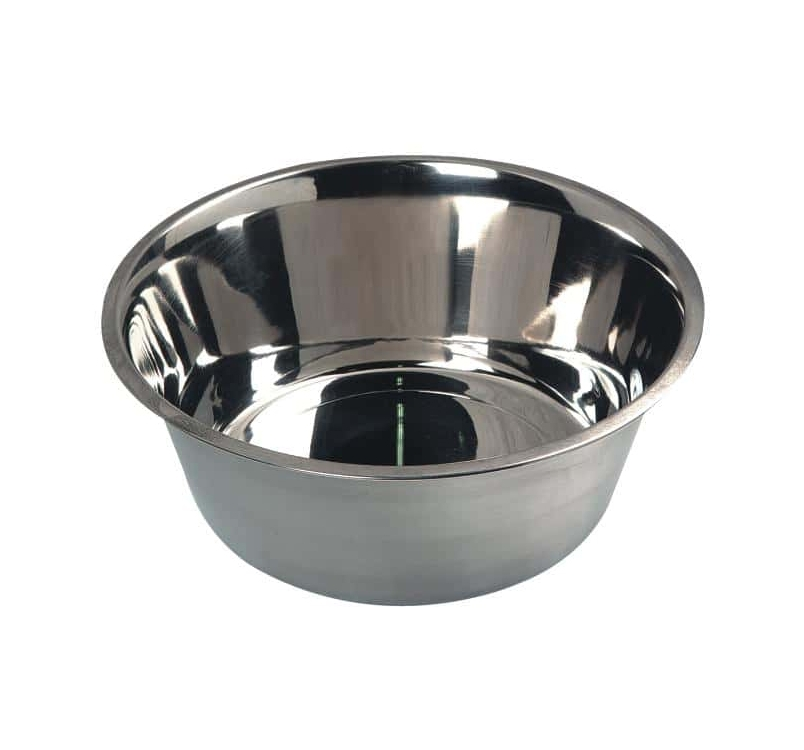 Миска для корма и питья (нержавеющая сталь) 800мл ø16cм