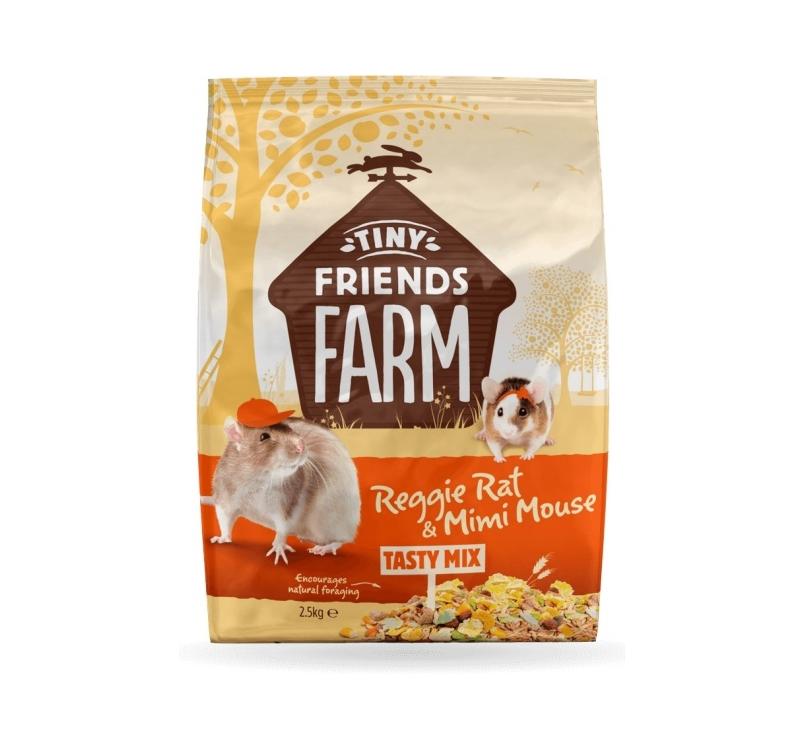 Supreme Reggie & Mimi Original Roti ja Hiire Toit 850g