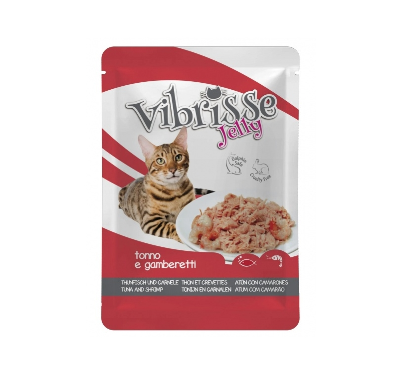 Vibrisse Jelly with Tuna & Shrimps 70g