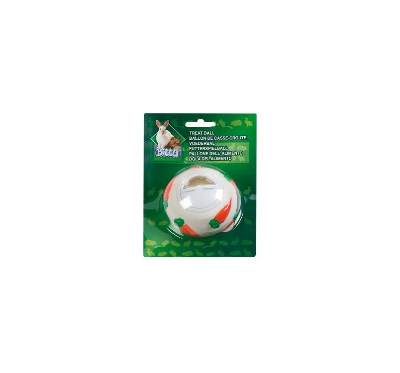 Мяч для лакомств для грызунов ⌀7см