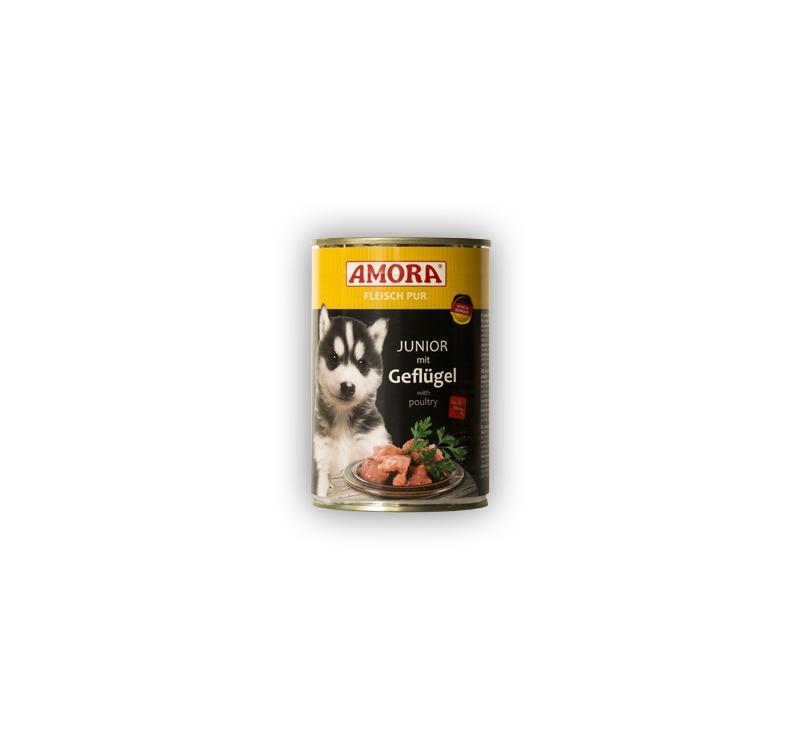 Amora консервы для щенков - курица 400г