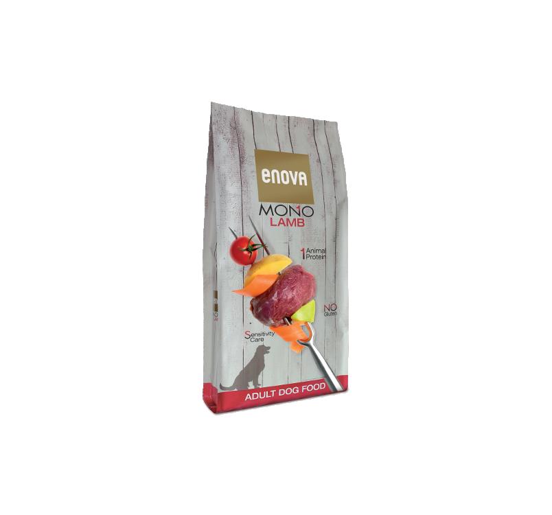 Enova MONO С бараниной для взрослых cобак 12кг