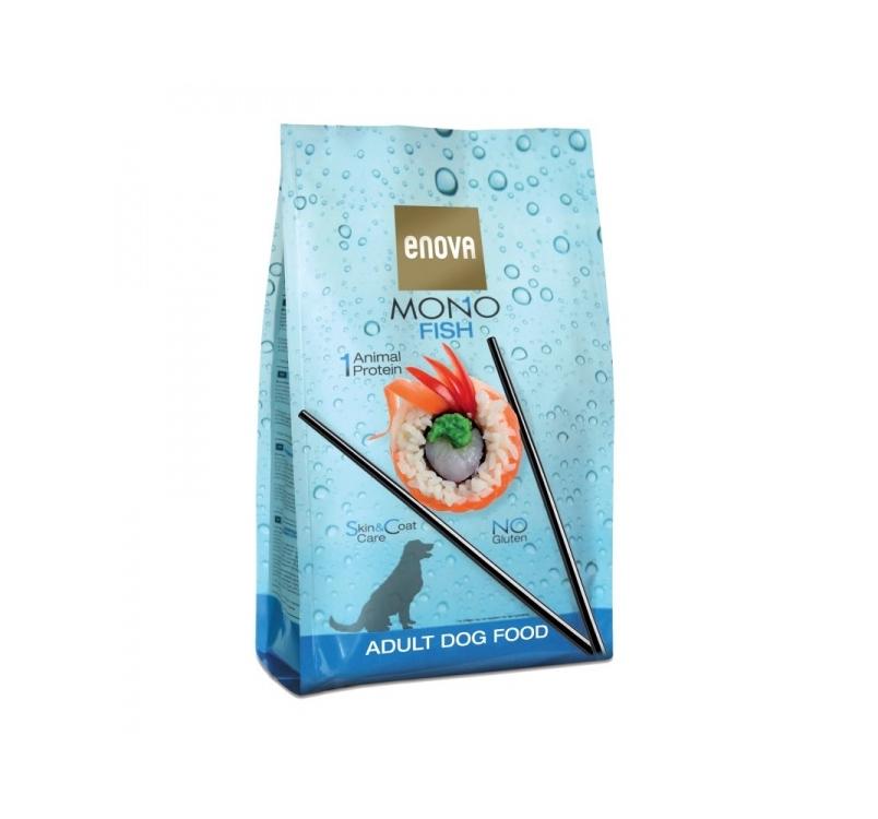 Enova MONO Fish Kuivtoit Täiskasvanud Koerale 2kg