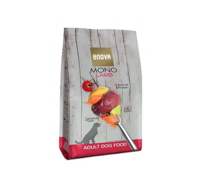 Enova MONO Lamb Complete Dog Food 2kg 12/02/2021