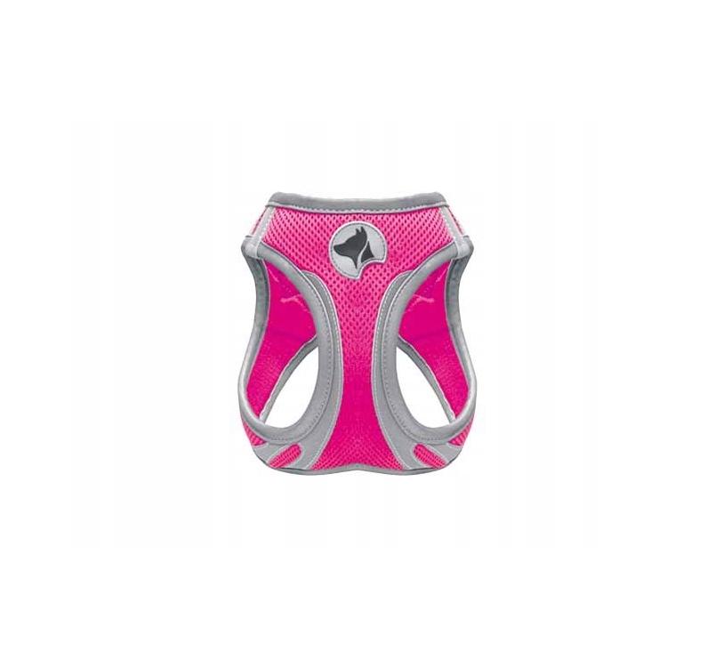 Шлейка светоотражающая, розовый XL