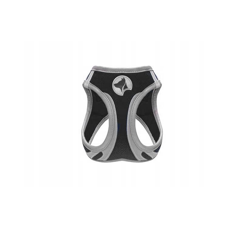 Harness Refelctive Black M 41-46cm