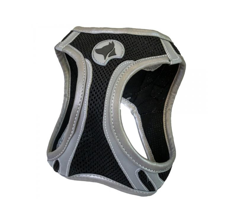 Harness Refelctive Black XL 53-58cm