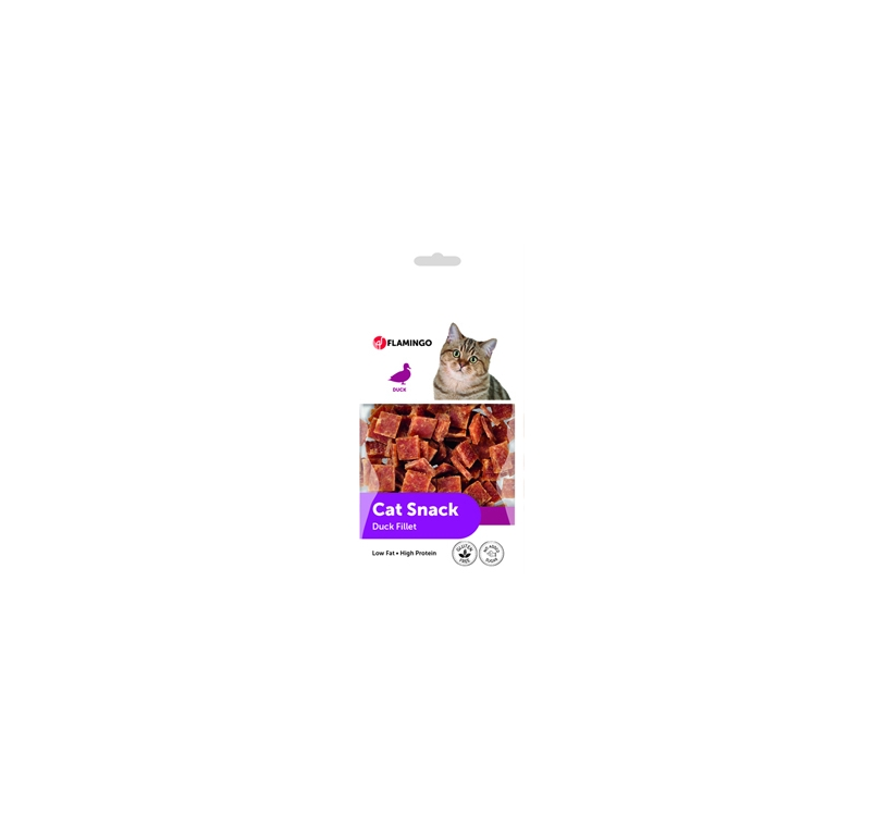 Cat Treat Duck Fillet Bites 50g