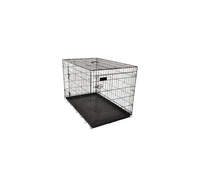 Metal Wire Cage Black Keo 109x70x77cm XL