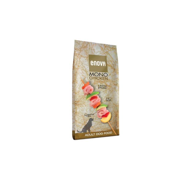 ENOVA Mono Chicken Kuivtoit Täiskasvanud Koerale 12kg