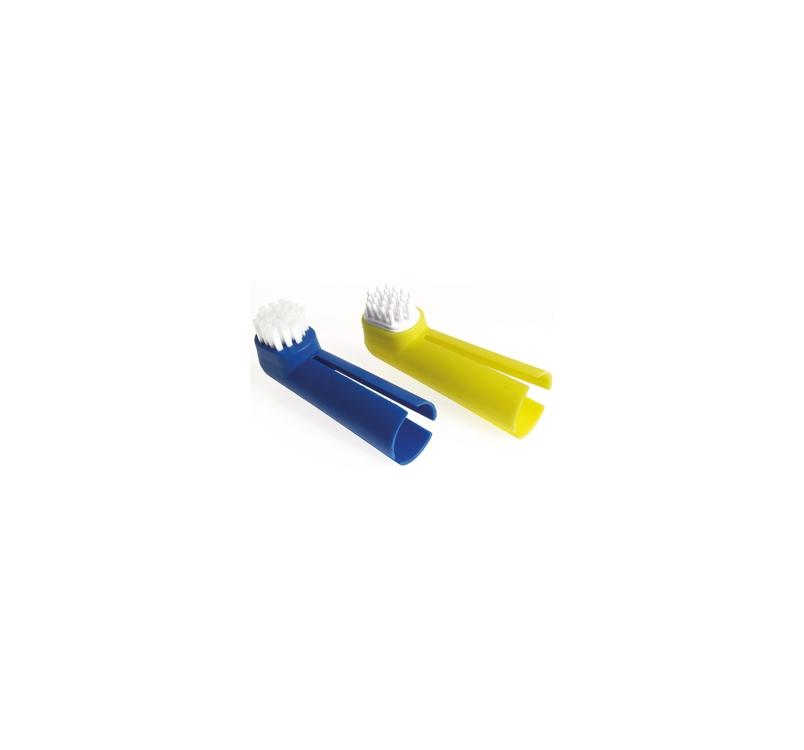 Набор из 2 щеток для ухода за зубами и полостью рта кошек и собак