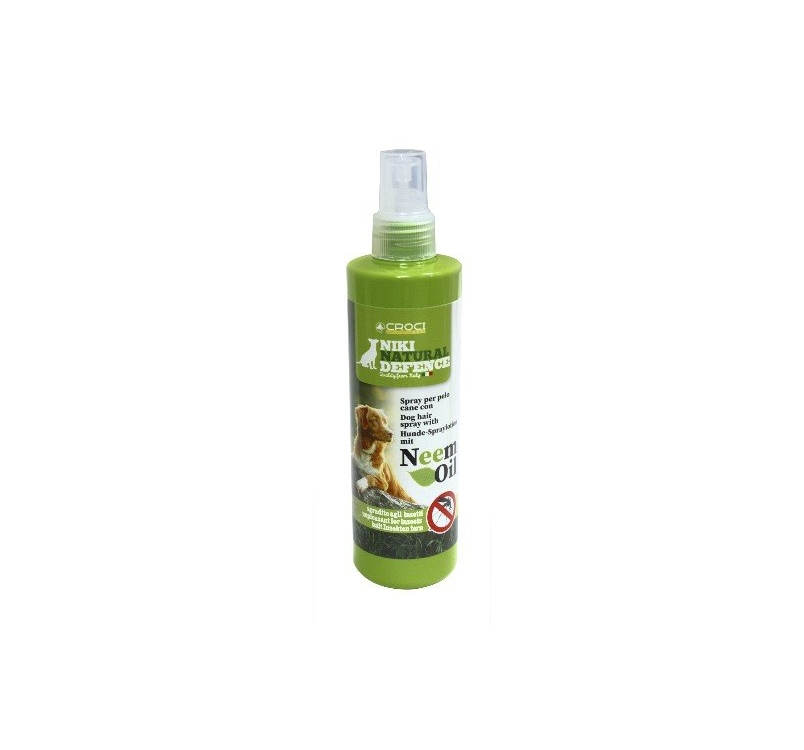 Spray Lotion for Dog Hair with Natural Neem Oil 250ml