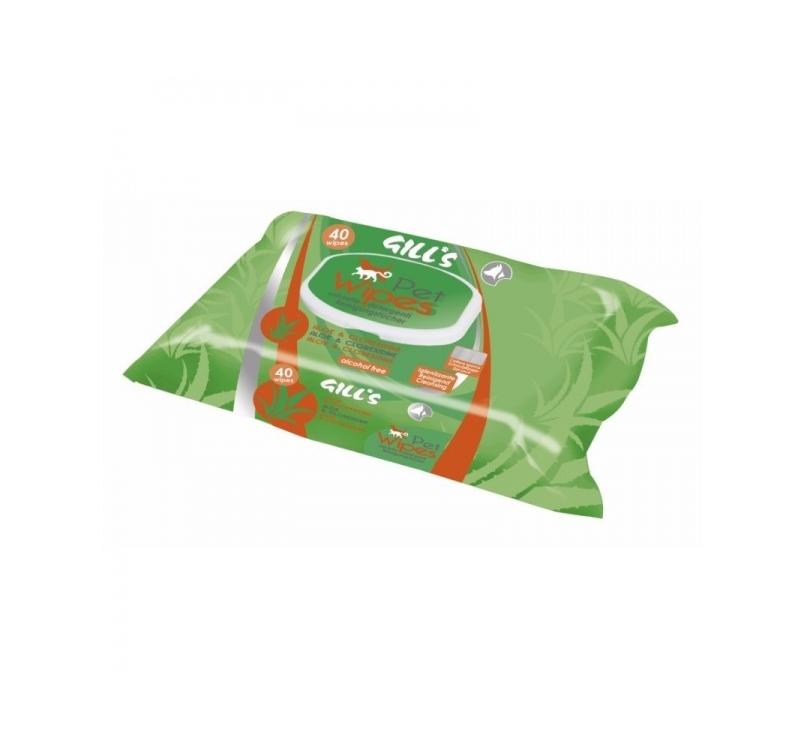 Блажные салфетки для чистки и нейтрализации молекул неприятного запаха (алоэ) 40шт