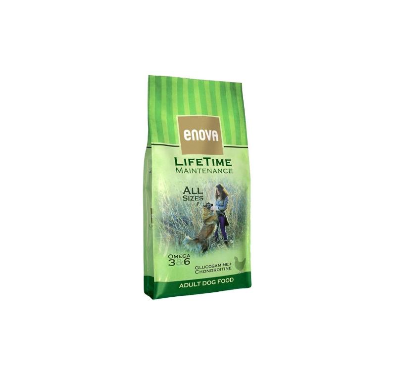 Enova Lifetime Maintenance Полноценное питание для взрослых собак всех пород 12кг