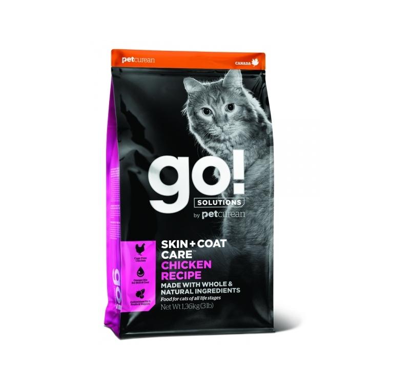 Tester GO! Skin + Coat Chicken Recipe for Cats & Kittens 100g