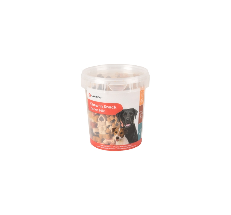 Chew'n Snack Soft Bones Mixed 500g