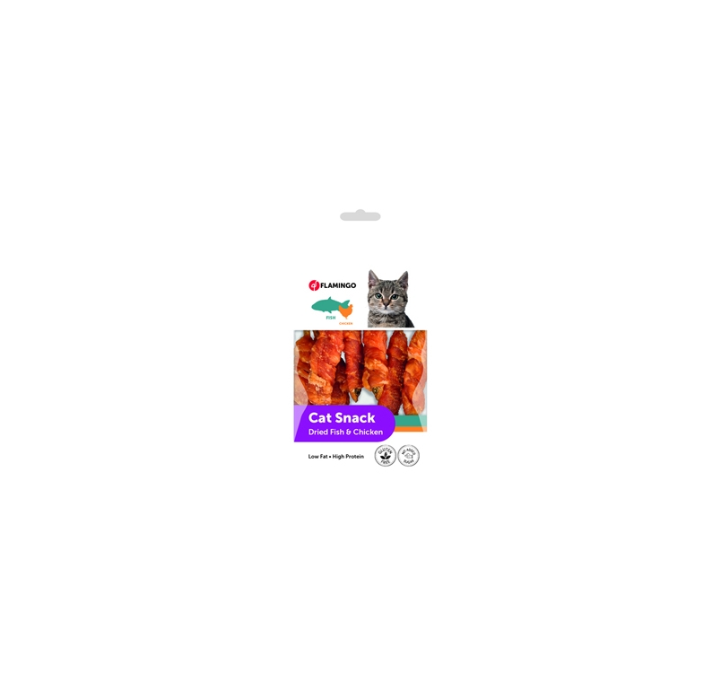 Dried Fish with Chicken Cat Treats 50g
