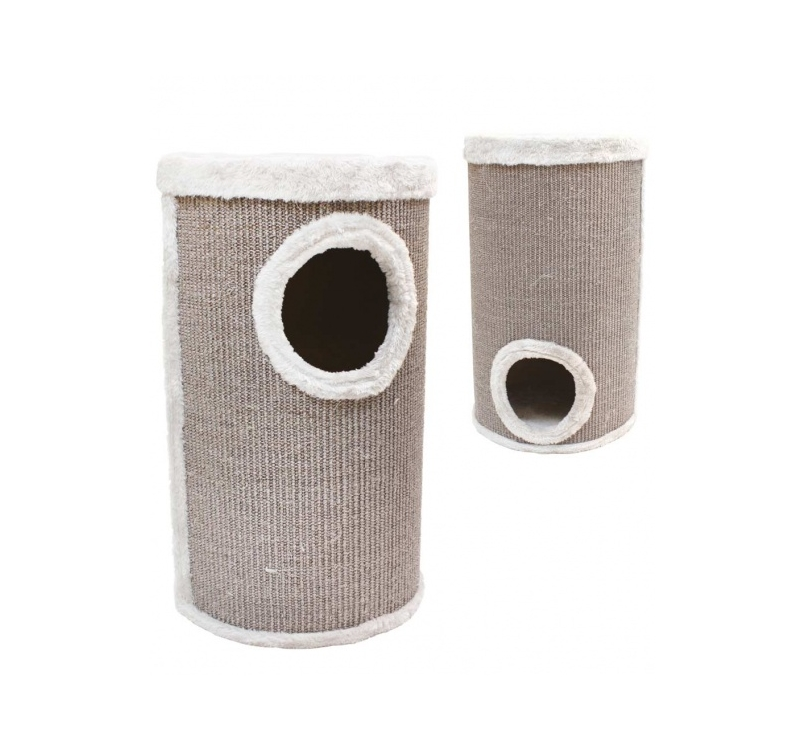 Cat Tower Gray 35x35x60cm