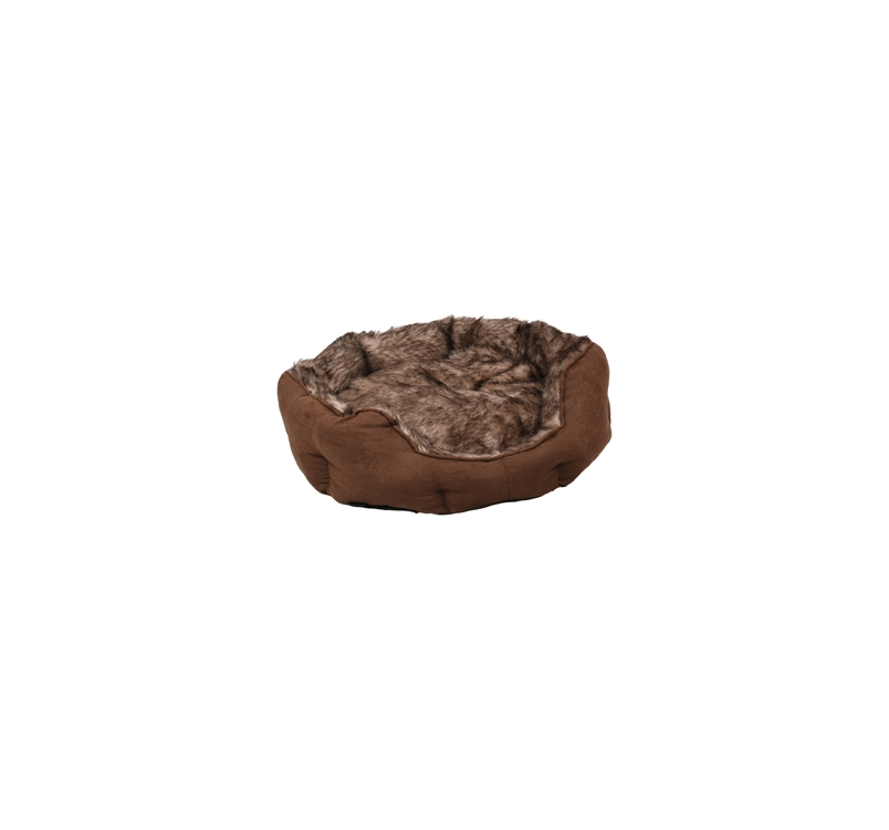 Basket Corno Octagonal Brown 57x52x16cm