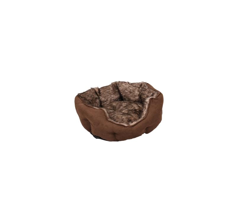 Basket Corno Octagonal Brown 45x40x14cm