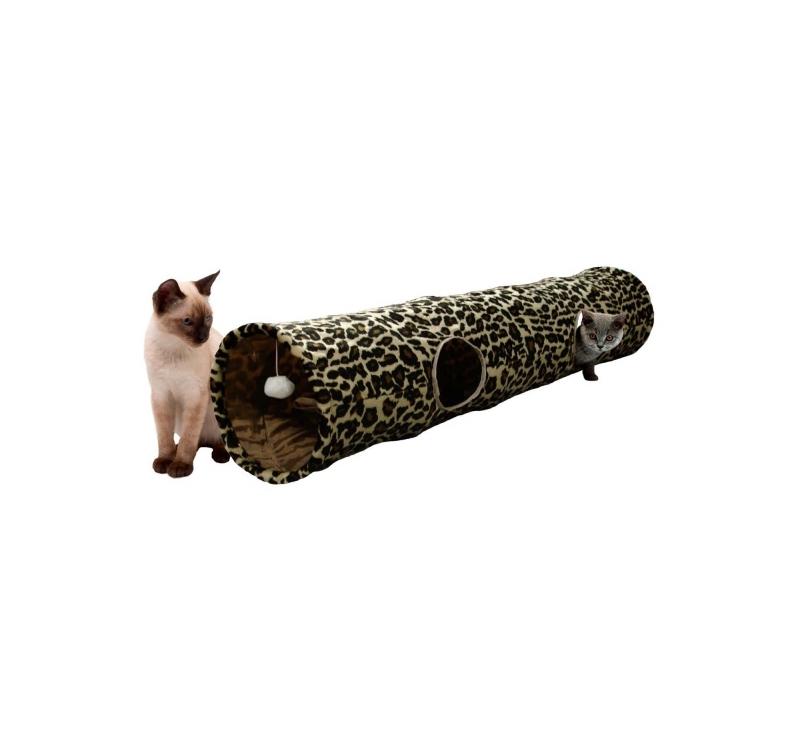 """Tоннель для кошки """"Leopard"""" 25х130см"""