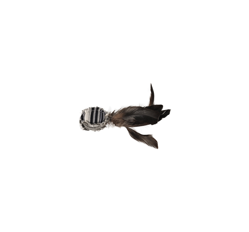Cat Toy Pirin Ball with Feathers