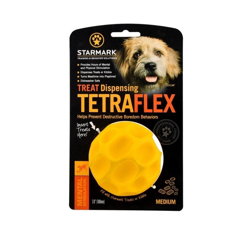 Starmark Tetraflex Treat Dispensing Ball M - игрушка для жевания