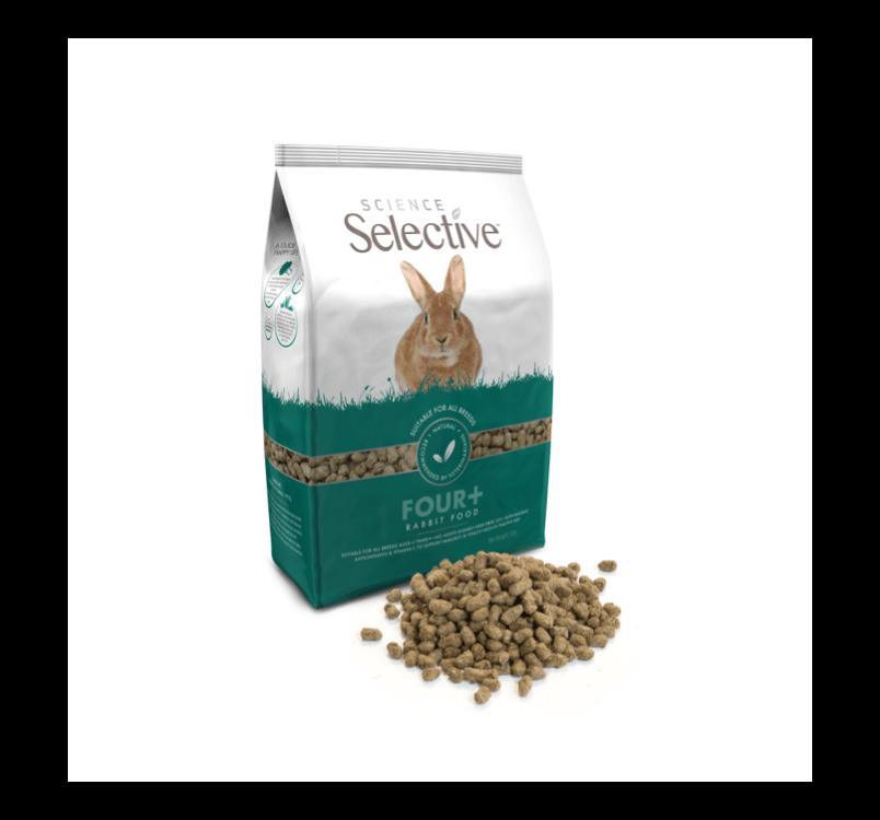 Supreme Selective Корм для кроликов 4+ 1,5кг