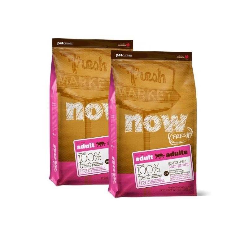 2x NOW Fresh Adult Cat Grain-free recipe 1,81kg 28/06/2020