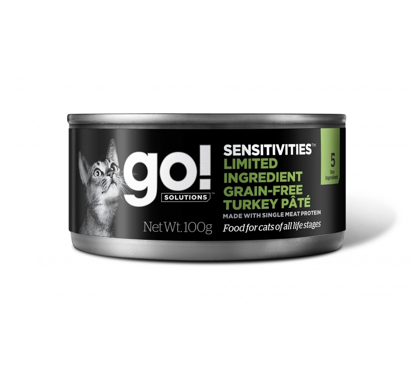 Go! Sensitivities Grain Free Turkey Pate 100g
