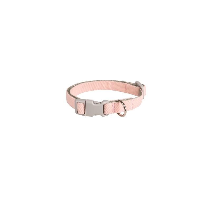 Small Dog Collar Pink 25-43cm 15mm
