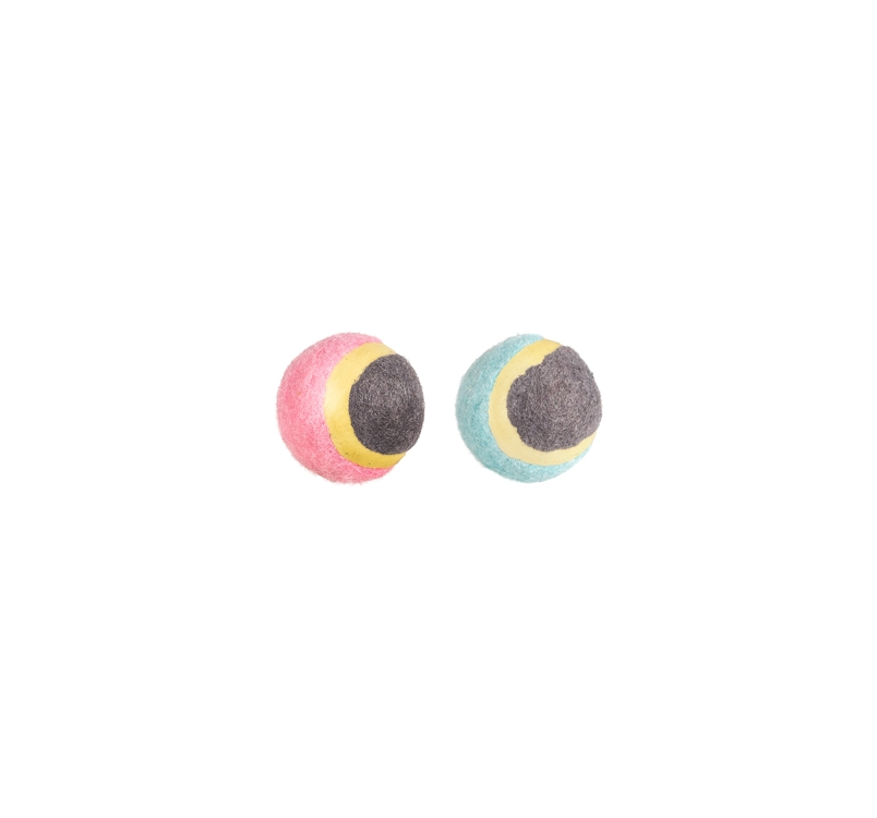 Small Dog Tennis Ball 4,5cm 2pcs