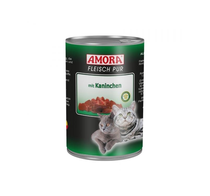 Amora Консервы для кошек - кролик 400г