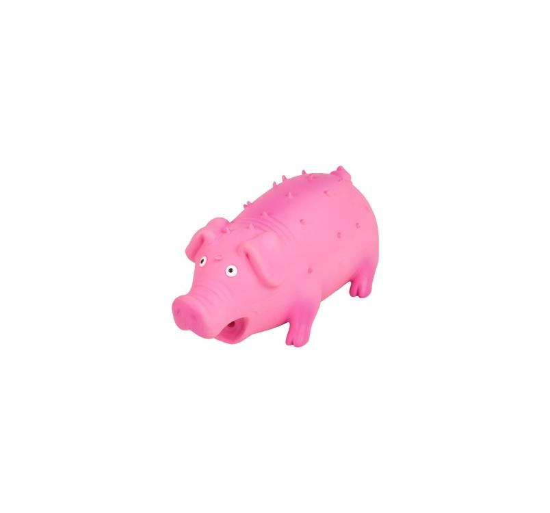 Игрушка для собак Свинка 10см