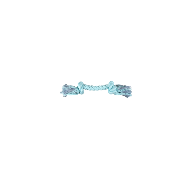 Small Dog Knotted Rope Izra Green 20cm