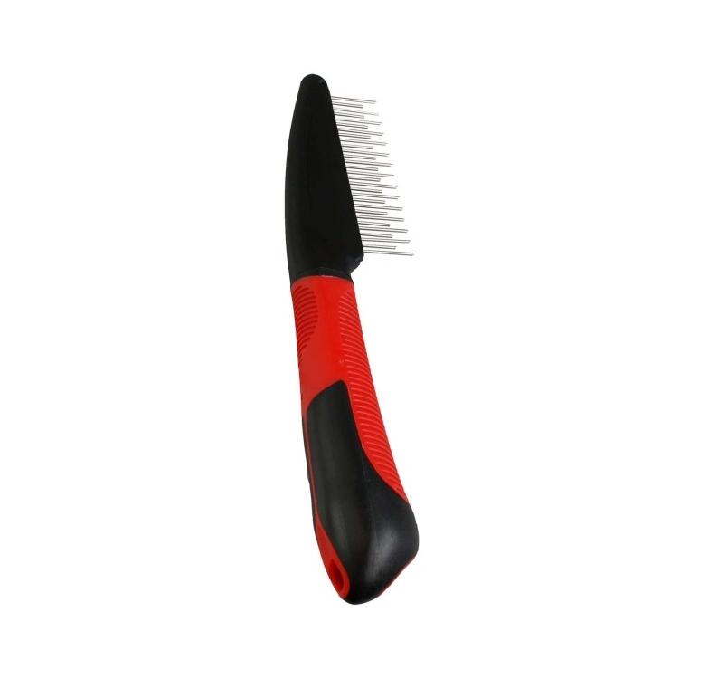 Comb with Rotating Teeth + Handle