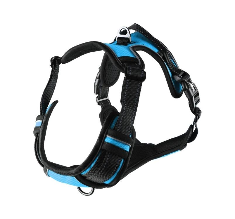 Harness Balou Blue L 60-85cm x 25mm