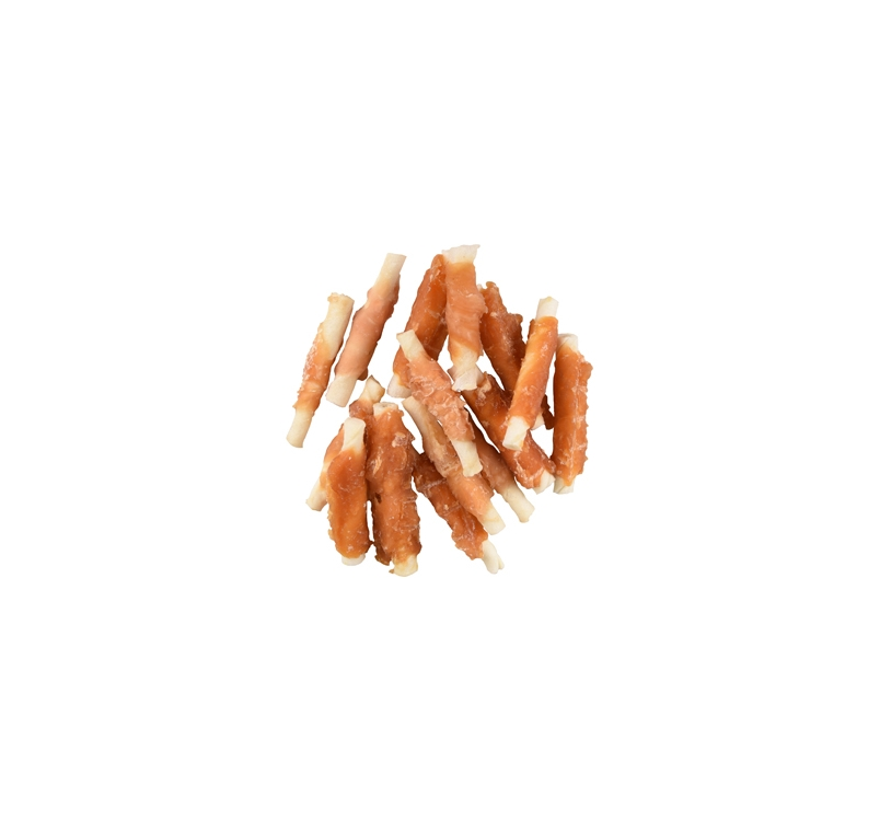 Rawhide Chicken Wrapped Sticks 6cm 15pcs