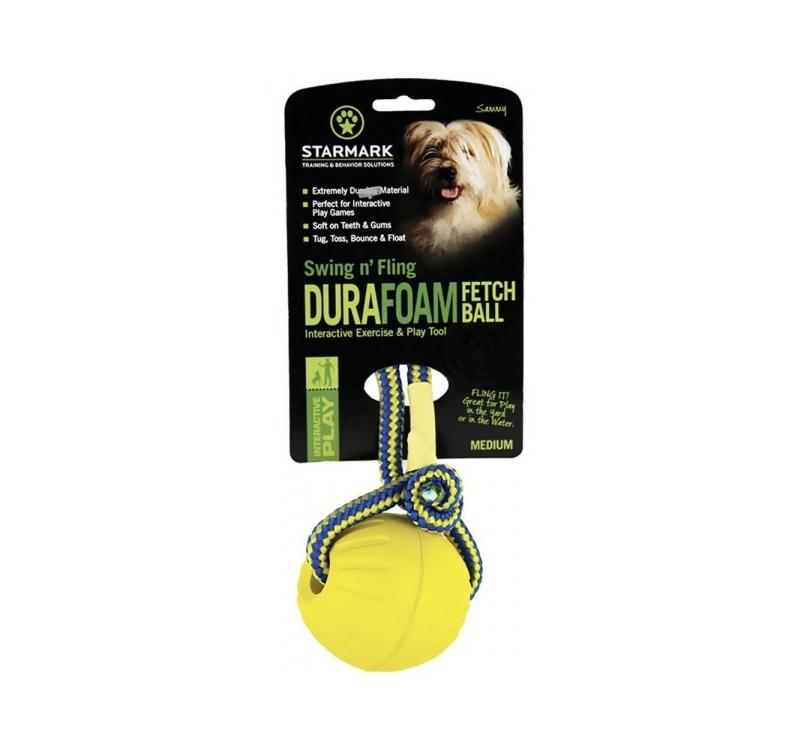 Starmark Swing & Fling DuraFoam Ball M