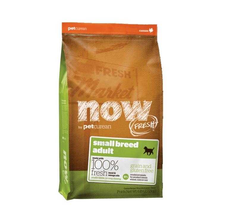 NOW FRESH беззерновой Корм для взрослых собак малых пород, с индейкой, уткой и овощами 11,3кг
