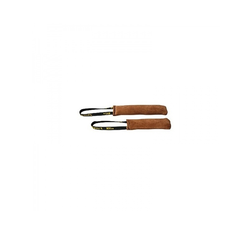 Klin Leather Tug with Handle 6x16cm