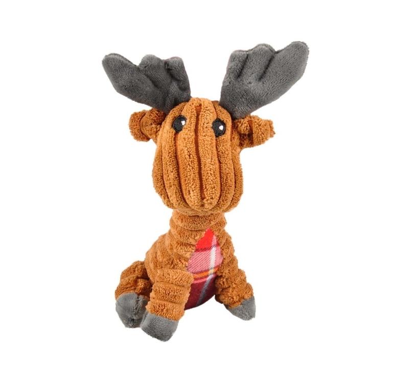 Dog Toy Corduroy Reindeer 15cm