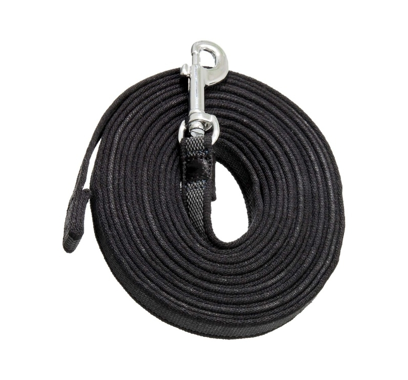 Rubber Coated Tracking Leash 15mm x 5m
