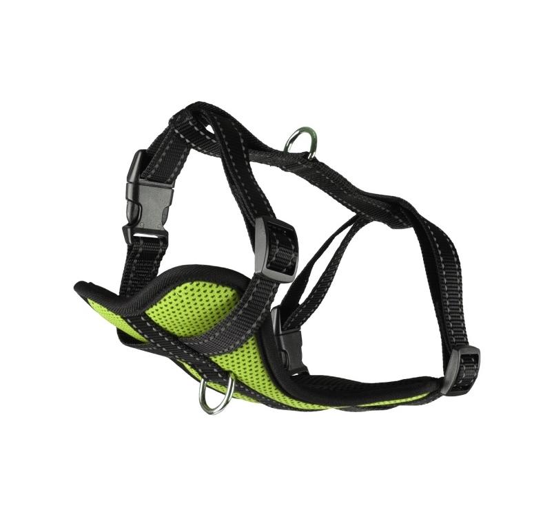 Harness Milou Green L 50-65cm 25mm