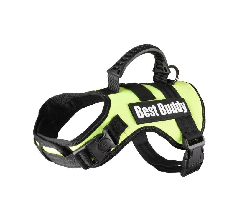 Шлейка Best Buddy S, зеленый, 50-70см, 25мм