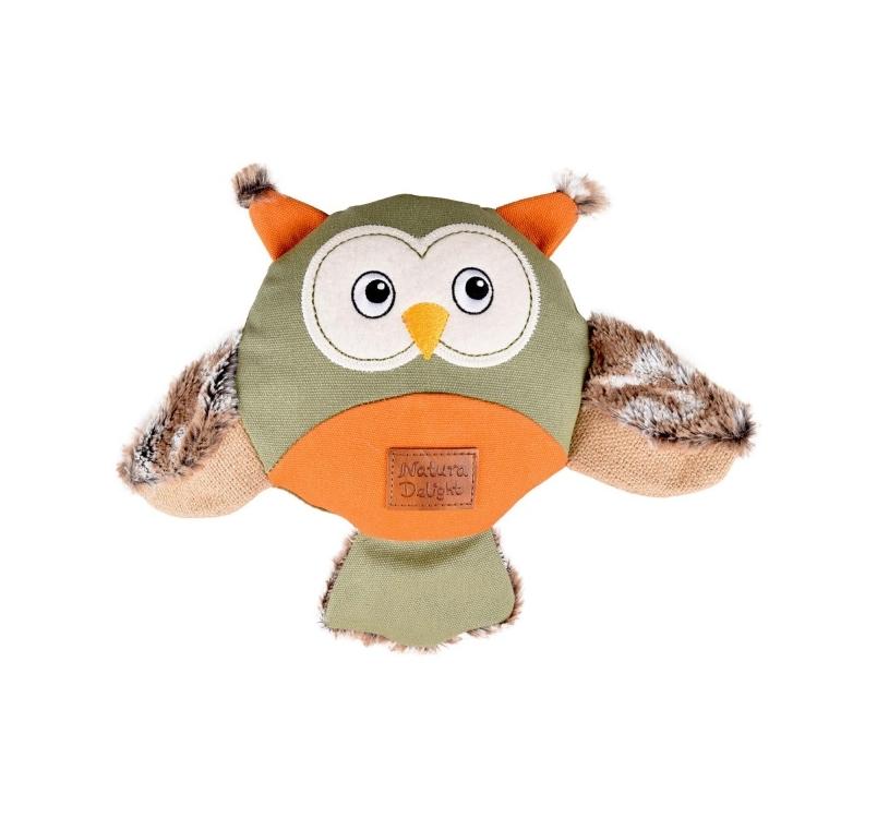 Dog Toy Natura Delight Owl 24cm