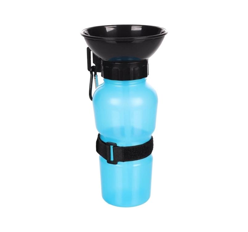 Portable Drinking Bottle Ollie Blue 10,5x10,5x21,5cm