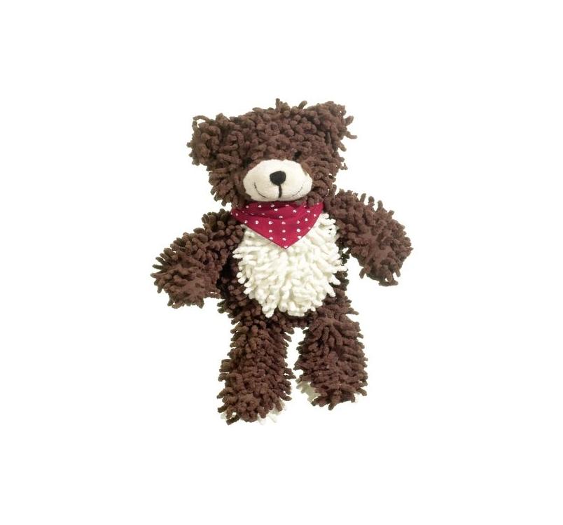 Dog Toy Teddy Bear Moppy 30cm